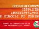 Coordinamento Cittadino PD Torino – 21 gennaio 2017