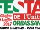 FESTA DE L'UNITA' DI ORBASSANO – DAL 28 GIUGNO AL 9 LUGLIO