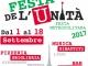 FESTA DE L'UNITA' 2017 – il programma