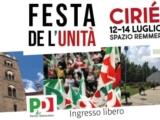 FESTA DE L'UNITA' DI CIRIE' – dal 12 al 14 luglio