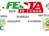 Festa de l'Unità di La Cassa – dal 31 agosto al 2 settembre
