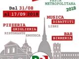FESTA DE L'UNITA' METROPOLITANA – IL PROGRAMMA