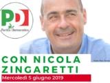 MERCOLEDì 5 GIUGNO – NICOLA ZINGARETTI IN PIEMONTE